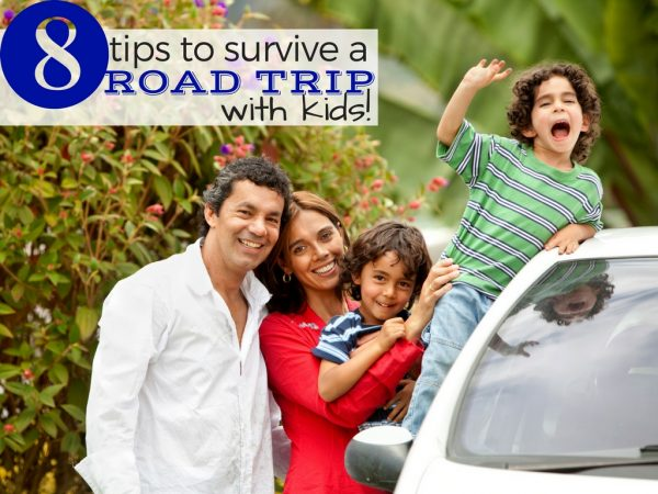 8 Tips to Survive a Road Trip with Kids