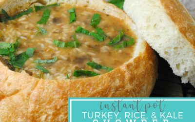 Turkey Rice and Kale Chowder – Instant Pot Recipe