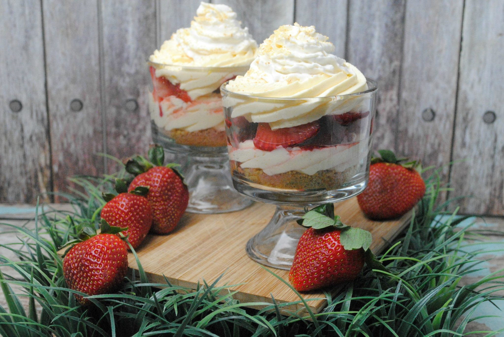 Strawberry Cheesecake Parfait Recipe