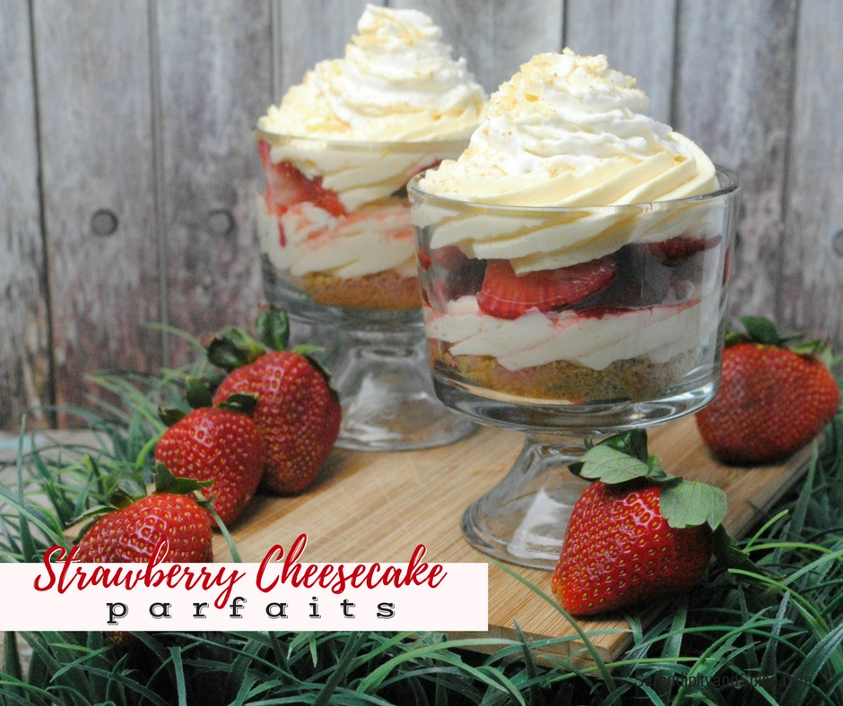 Strawberry Cheesecake Parfait Recipe