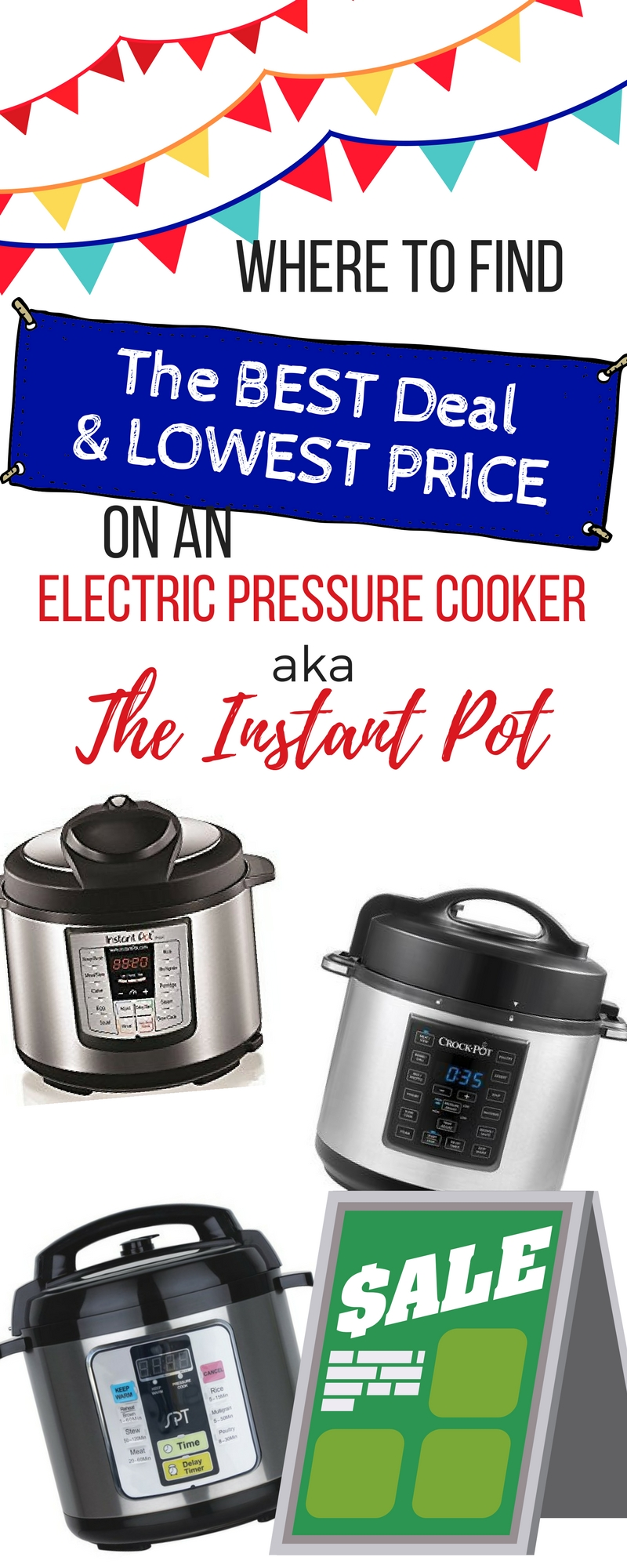 Electric Pressure Cooker Deals