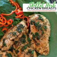 Skillet Herb Chicken Breast Recipe