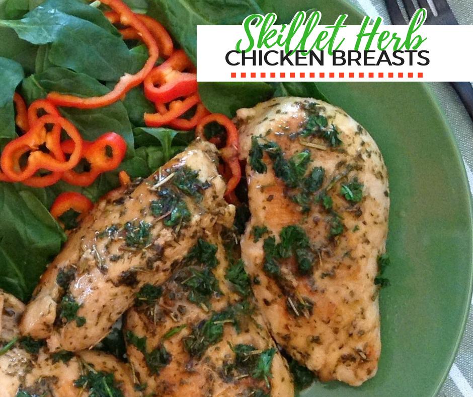 Skillet Herb Chicken Recipe