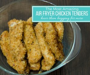 Air Fryer Chicken Tenders Recipe