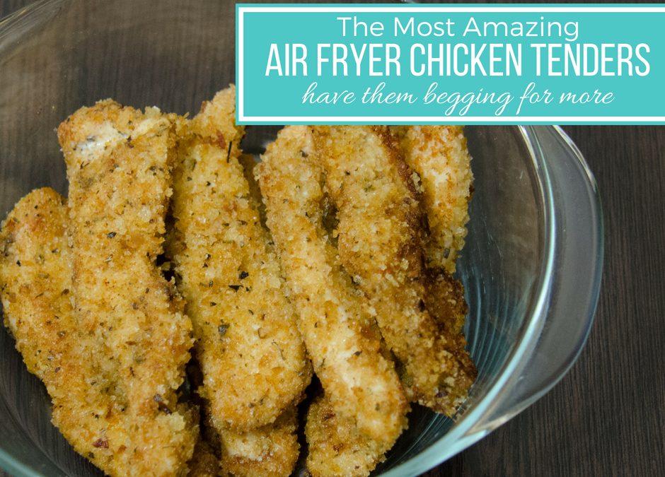 Air Fryer Chicken Tenders Recipe