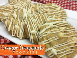 Orange Creamsicle Cookie Recipe – The BEST Summer Cookies EVER!