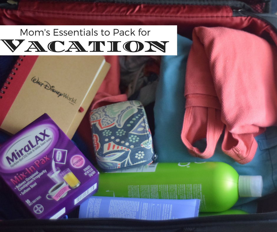 Mom's Essential Survival Pack for Vacation