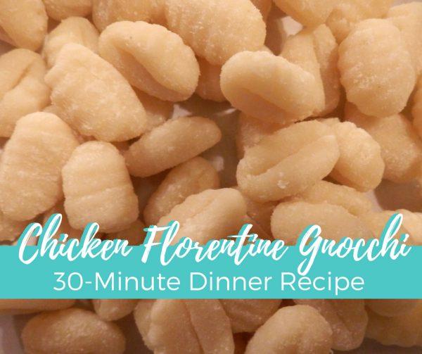 Chicken Florentine Gnocchi Recipe