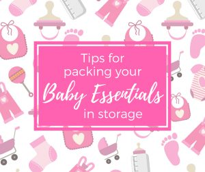 How to Store Baby Clothes & Other Baby Items When You're Not Done Having Kids