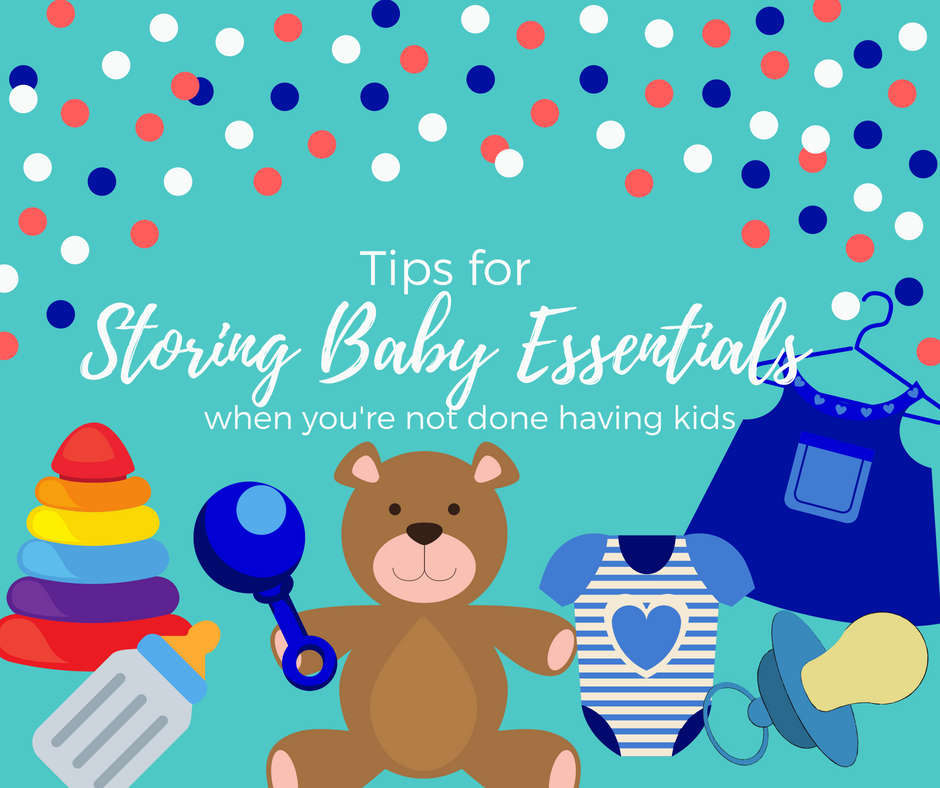 how to store baby clothes and other essentials