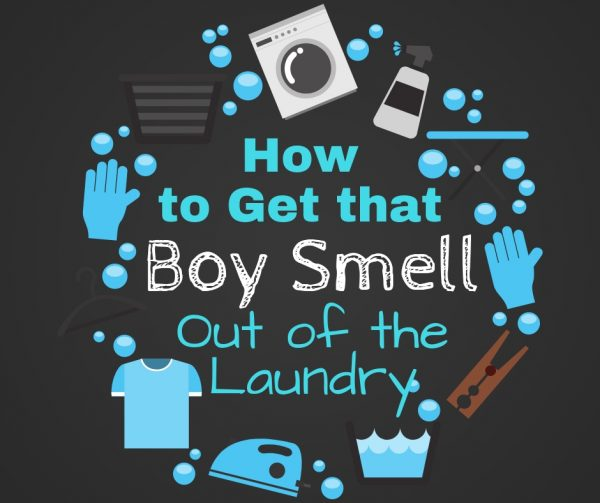 How to get that boy smell out of the laundry