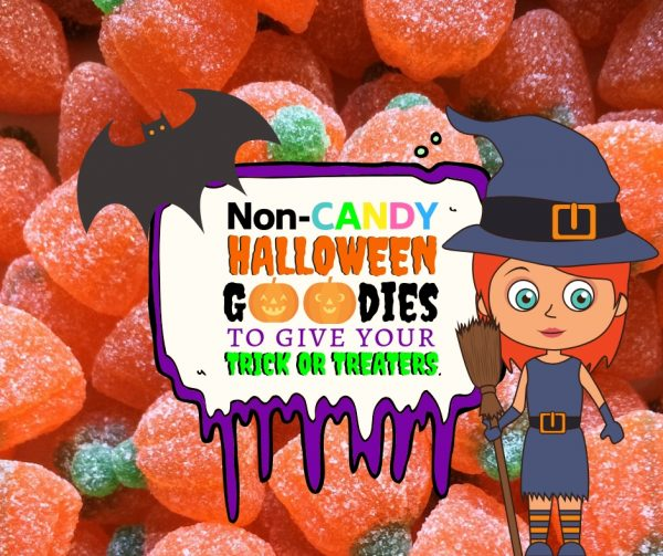 Non-Candy Halloween Treats to Give Out