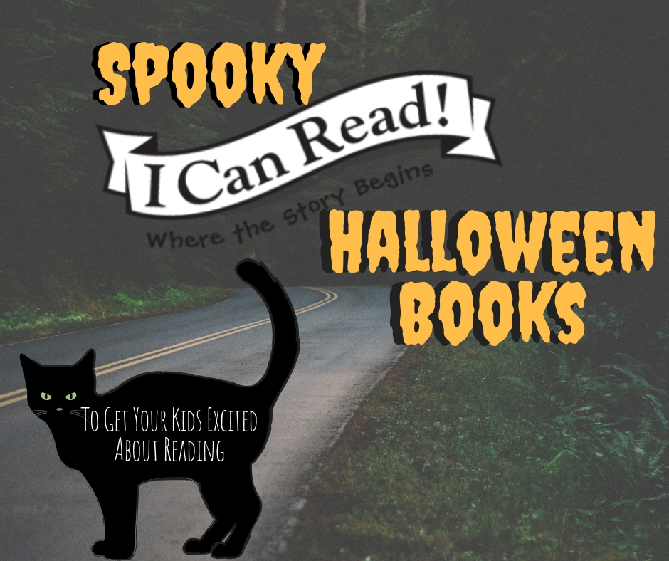 Spooky I Can Read Halloween Books