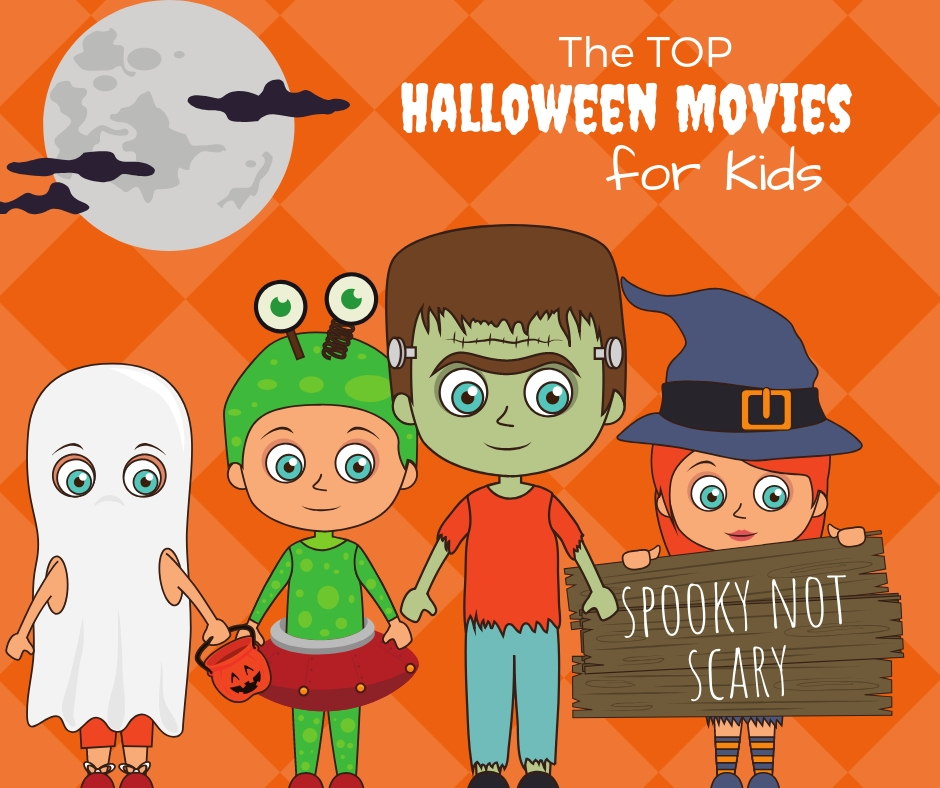 Spooky Not Scary Halloween Movies for Kids