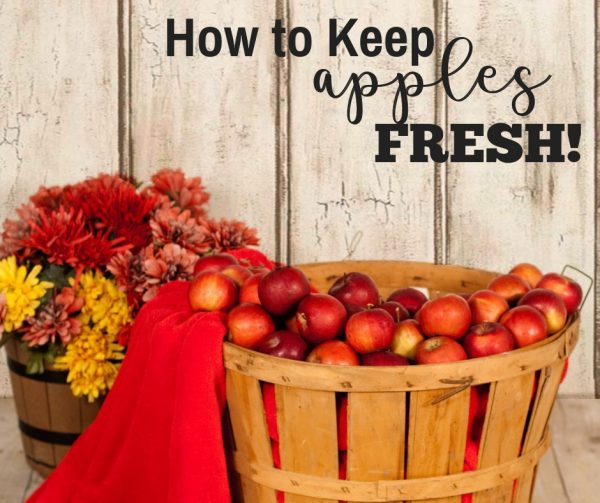 How to Keep Apples Fresh Longer