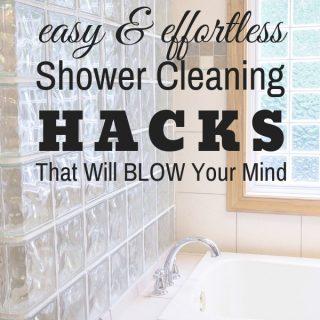 Cleaning Glass Shower Doors Hacks