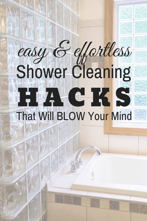 Cleaning Glass Shower Doors Hacks