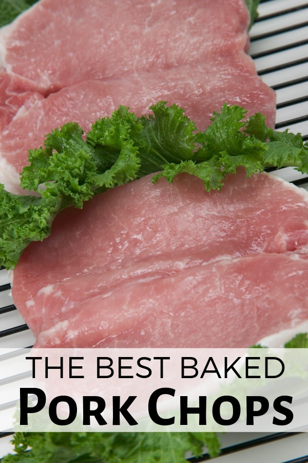 The BEST Baked Pork Chops Recipe!