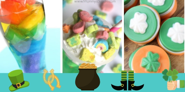St Patrick's Day Treats for Kids - Easy and Simple St. Patrick's Day Snacks