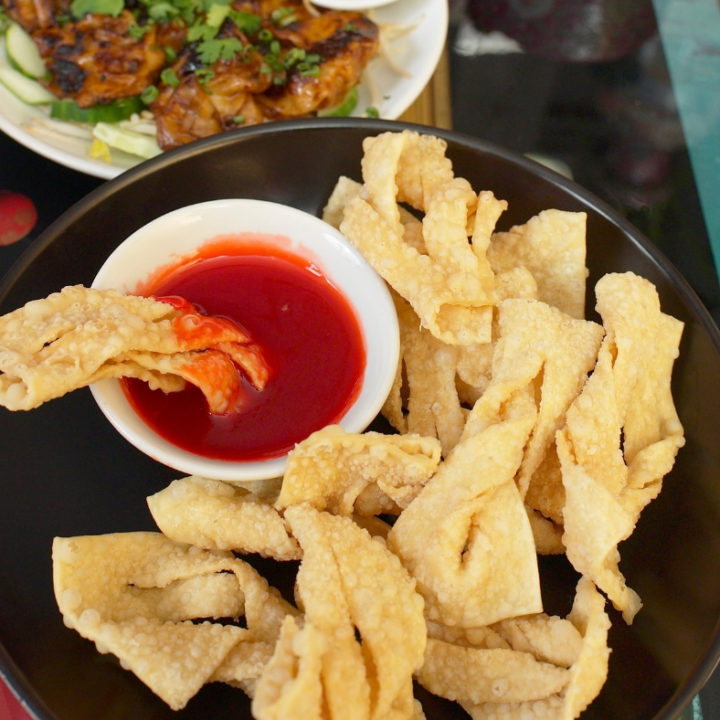 Chinese Chips Crispy Wontons