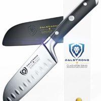 "DALSTRONG Santoku Knife - Small - Gladiator Series - German HC Steel - 5"" - Sheath"