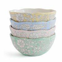Dorotea 5215285 Hand Painted Small Soup Bowl