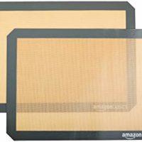 AmazonBasics Silicone Baking Mat - 2-Pack