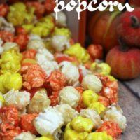 Candy Corn Popcorn Recipe