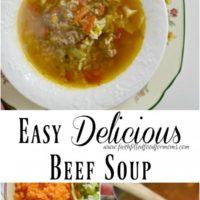 Easy Delicious Beef Soup