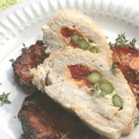 Stuffed Chicken with Sun Dried Tomatoes Recipe