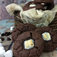 S'mores Chocolate Cake Mix Cookies Recipe