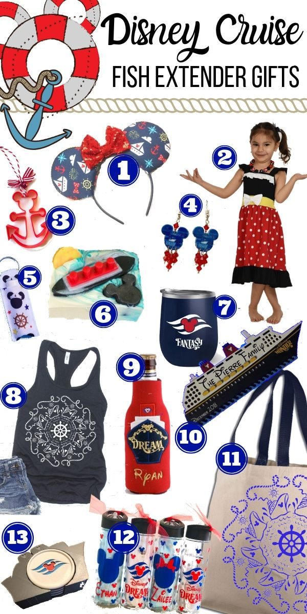 What are Disney Cruise Fish Extenders and what are considered good gifts to give?