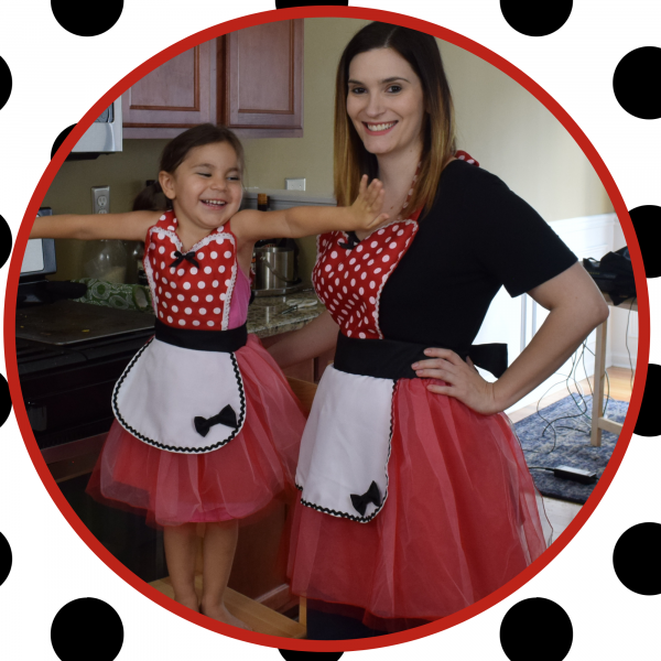 Mommy and Me Matching Disney Aprons
