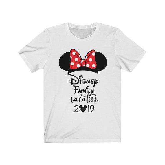 Disney Family Vacation Shirt for Women