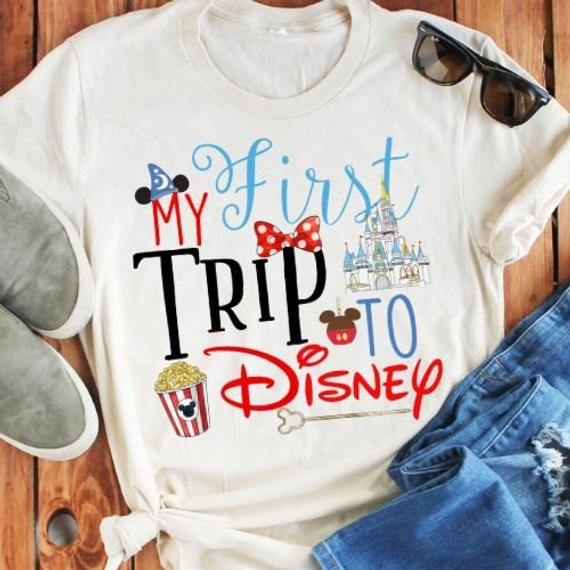 My First Disney Trip Women's Shirt