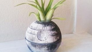 4. Death Star Planter