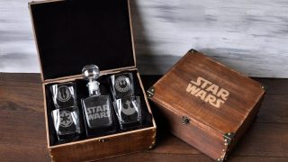 10. Star Wars Whiskey Decanter Set - Personalization Available