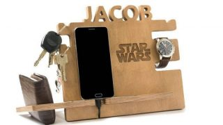 11. Star Wars Personalized Charging Station