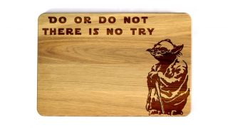 2. Star Wars Personalized Cutting Board