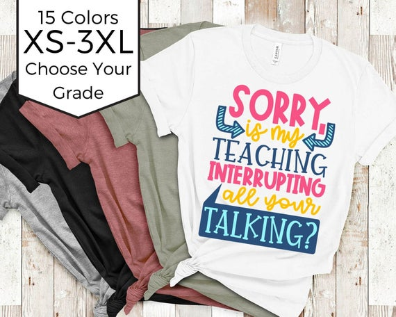 Snarky Teacher Shirt