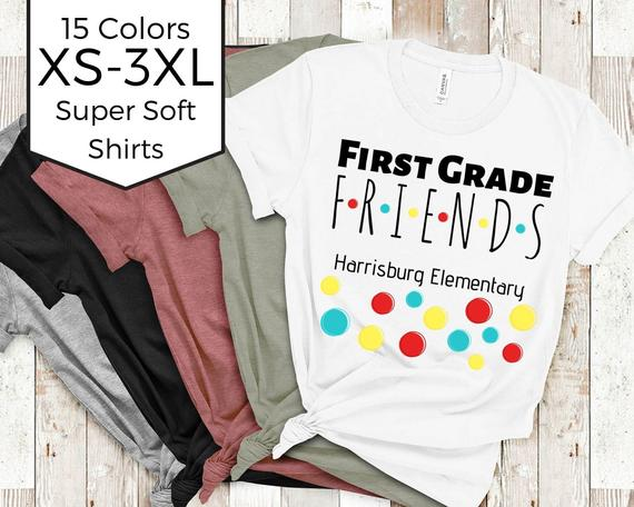 Friends Inspired Teacher Squad Shirt