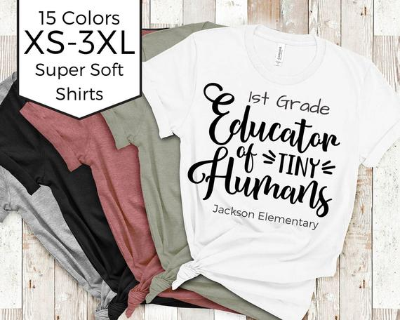 Educator of Tiny Humans Teacher Shirt