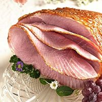 Or...just order a predone spiral honey glazed ham!