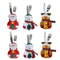 These adorable utensil holders are perfect for your dinner table!