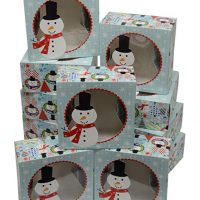 Snowman Cookie Gift Boxes