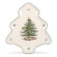 Spode Christmas Tree-Shaped Platter