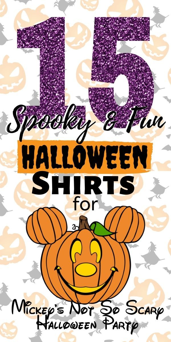 Disney Halloween Shirts - PIN ME