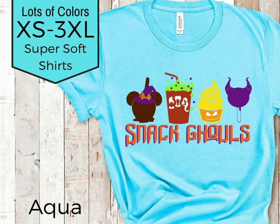 Snack Ghouls Disney Halloween Shirt