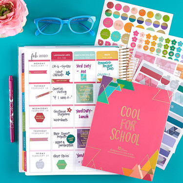 Erin Condren School Planner Pack