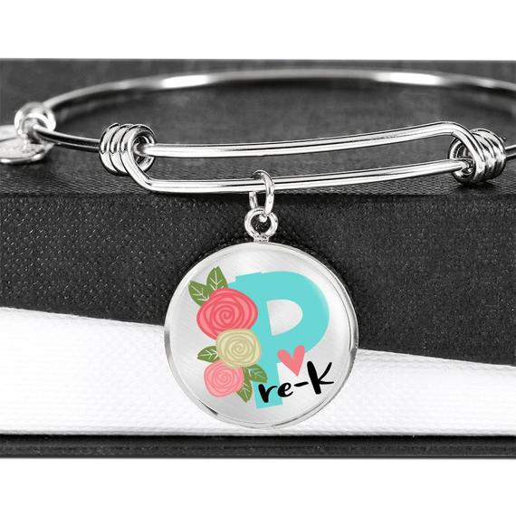 Teacher Appreciation Gift - CHOOSE YOUR GRADE Teacher Bracelet